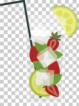 Juice Strawberry Drink Auglis PNG