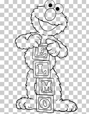 Elmo Coloring Book Child Colouring Pages Cookie Monster PNG