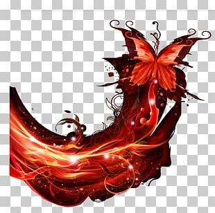 Butterfly Effect Computer File PNG