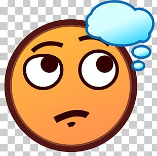 Emoji Thought Text Messaging Face Smiley PNG