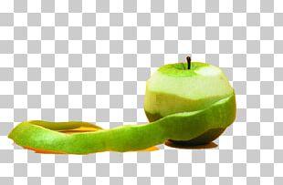 Granny Smith Peel Apple Fruit Food PNG
