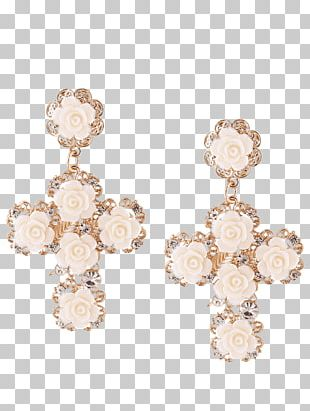 Earring Jewellery Alloy Clothing Accessories Gold PNG