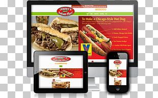 Fast Food Restaurant Chicago-style Hot Dog Display Advertising PNG
