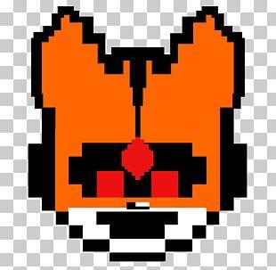 Pixel Art Bead PNG