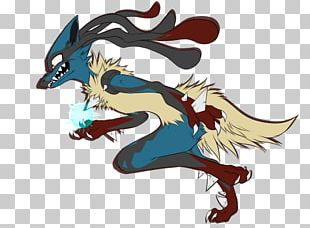 Pokémon X And Y Lucario Fan Art Drawing PNG