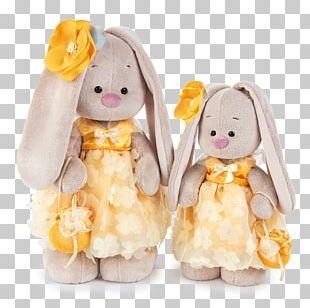 Bunny Mi Flower Stuffed Animals & Cuddly Toys Зайка Ми & Кот Басик PNG