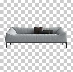 Sofa Bed Couch Comfort Grey PNG