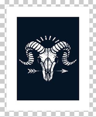 Bone Human Skull Symbolism T-shirt Goat PNG