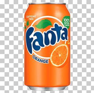 Fizzy Drinks Coca-Cola Fresca Fanta Orange Soft Drink PNG