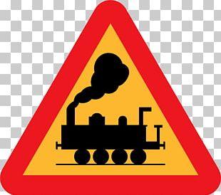 Rail Transport Traffic Sign Level Crossing Train PNG