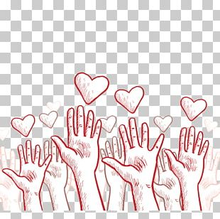 Charities Hand And Heart PNG