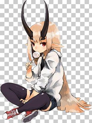 Anime Female 少女向けアニメ Demon Drawing PNG