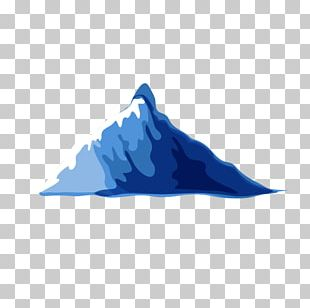 Blue Mountain Cartoon PNG