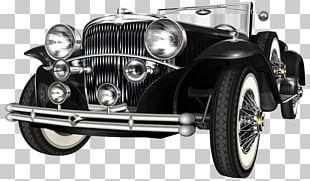 Classic Car Vintage Car Retro Style PNG