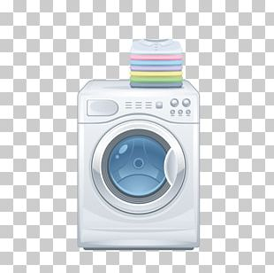 Washing Machine Nightstand PNG
