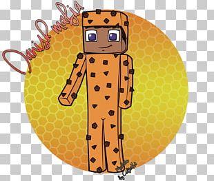 Giraffe Animated Cartoon Illustration PNG