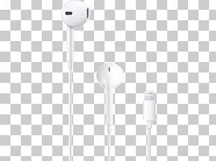 Headphones Apple Earbuds Lightning Microphone PNG