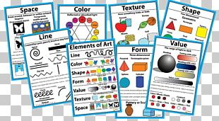 Elements Of Art Painting Graphic Design Poster PNG