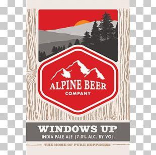 India Pale Ale Beer Thornbridge Brewery Alpine PNG