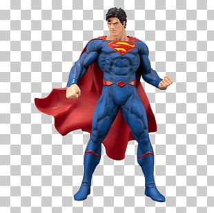 The Death Of Superman Action & Toy Figures Superman: New Krypton Figurine PNG