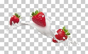 Flavored Milk Frutti Di Bosco Cream Strawberry PNG