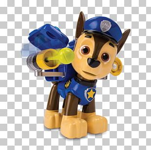 Chase Bank Nickelodeon Paw Patrol Jumbo Action Pup Figure PNG
