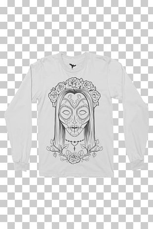 T-shirt Sleeve Day Of The Dead Calavera Sticker PNG