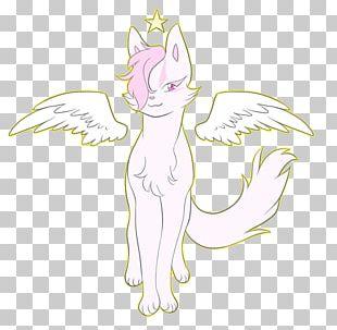 Cat Horse Line Art Sketch PNG