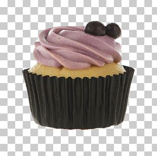 Cupcake Petit Four Praline Cream Muffin PNG
