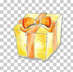 Gift Box Poster Illustration PNG