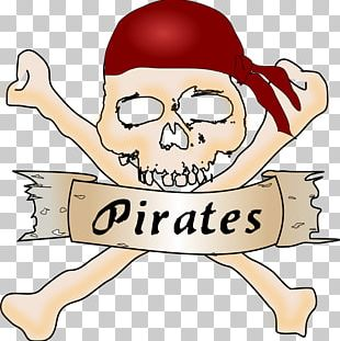 Piracy Free Content Skull And Crossbones PNG
