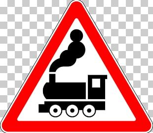 Rail Transport Level Crossing Boom Barrier Road Traffic Sign PNG