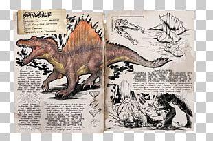 ARK: Survival Evolved Spinosaurus Allosaurus Dinosaur Triceratops PNG