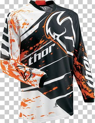 Jersey T-shirt Motocross Motorcycle PNG