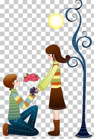 Valentines Day Qixi Festival Romance Illustration PNG