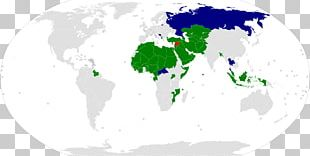 Organisation Of Islamic Cooperation World Map World Map PNG