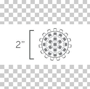 Brand White Circle Logo PNG