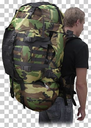 Military Camouflage Backpack New Zealand Army PNG
