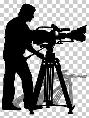 Camera Operator Silhouette Stock Photography Video PNG