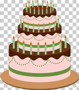 Birthday Cake Layer Cake Cream PNG