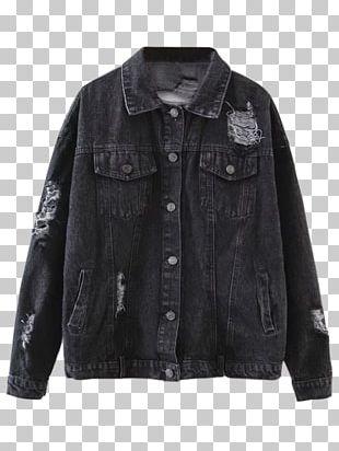 Jean Jacket Denim Coat Sweater PNG