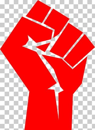 Raised Fist Symbol Thumb Signal Communism PNG