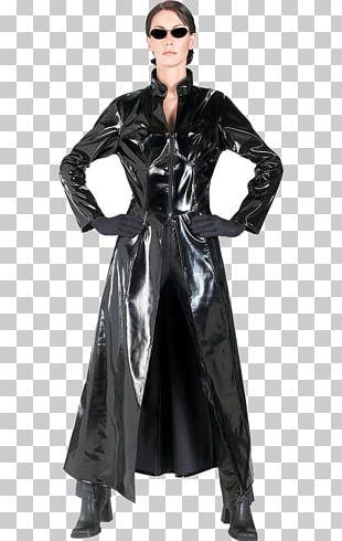 Trinity The Matrix Neo Morpheus Costume PNG