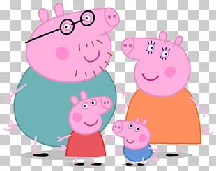 Daddy Pig Mummy Pig Family Entertainment One PNG