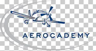 Logo Aircraft Airplane Aerocademy Flight PNG