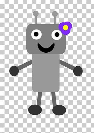 Robot Girl PNG