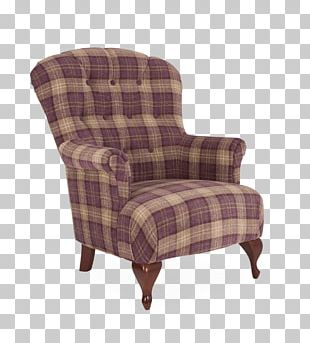 Club Chair Wing Chair Couch Upholstery PNG