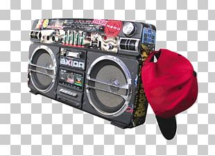 Hip Hop Music Boombox PNG