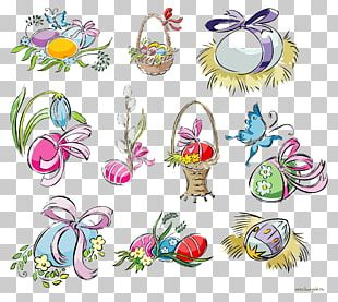 Paskha Easter Egg Embroidery Cross-stitch PNG