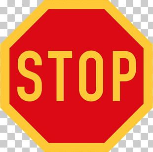 Nigeria Traffic Sign Logo Stop Sign PNG